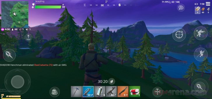 OnePlus x Fortnite: 90fps Performance Review