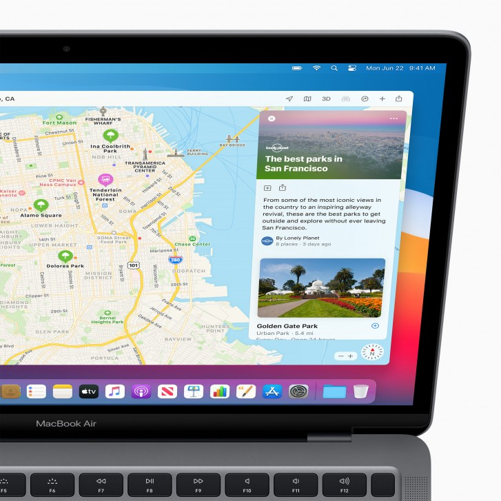 Apple introduces macOS Big Sur with redesigned UI and updated apps
