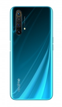 Realme X3 SuperZoom in blue and white