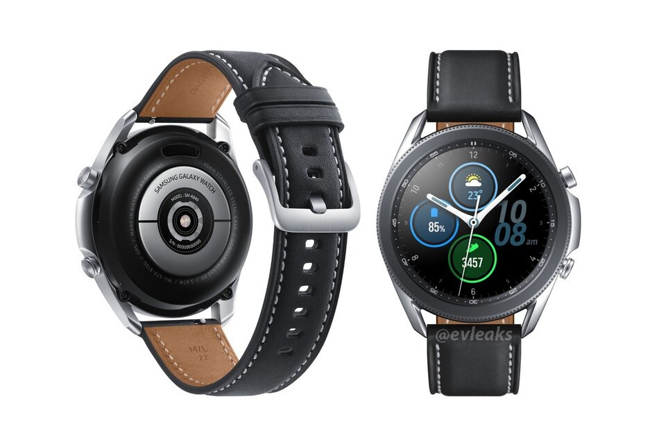 Leaked high-quality render does the beautiful Samsung Galaxy Watch 3 justice