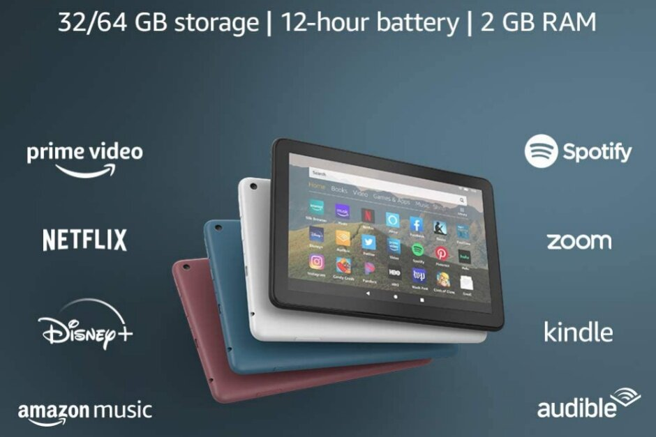 The first deals have arrived for Amazon's hot new Fire HD 8 and Fire HD 8 Plus tablets