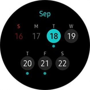 Calendar and cycle tracking