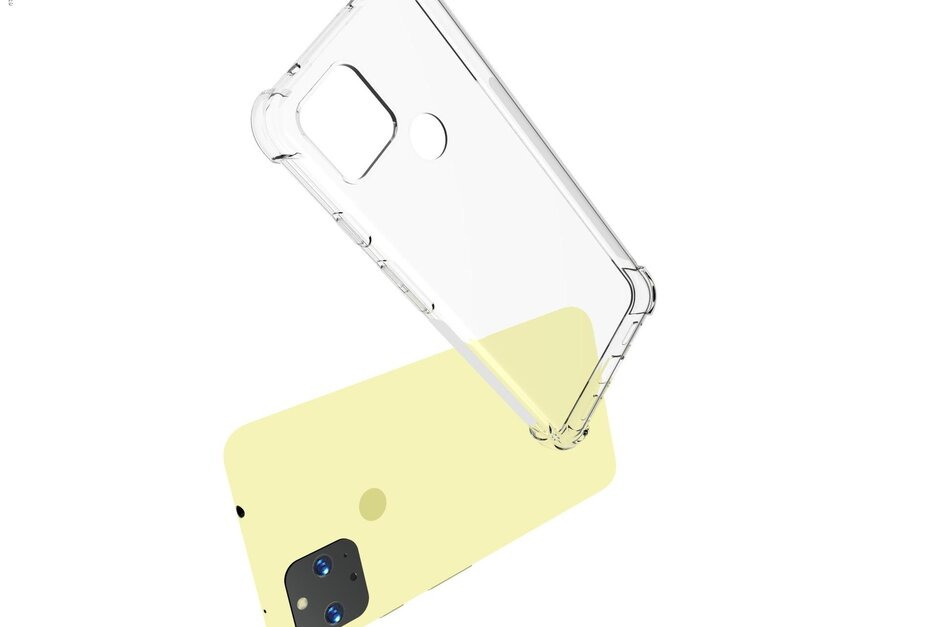 Leaked Pixel 5 XL case shows a physical fingerprint reader, 3.5mm headphone jack, and small notch