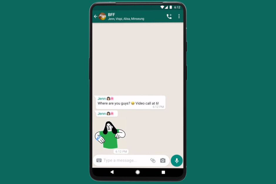 WhatsApp rolls out animated stickers on Android and iOS