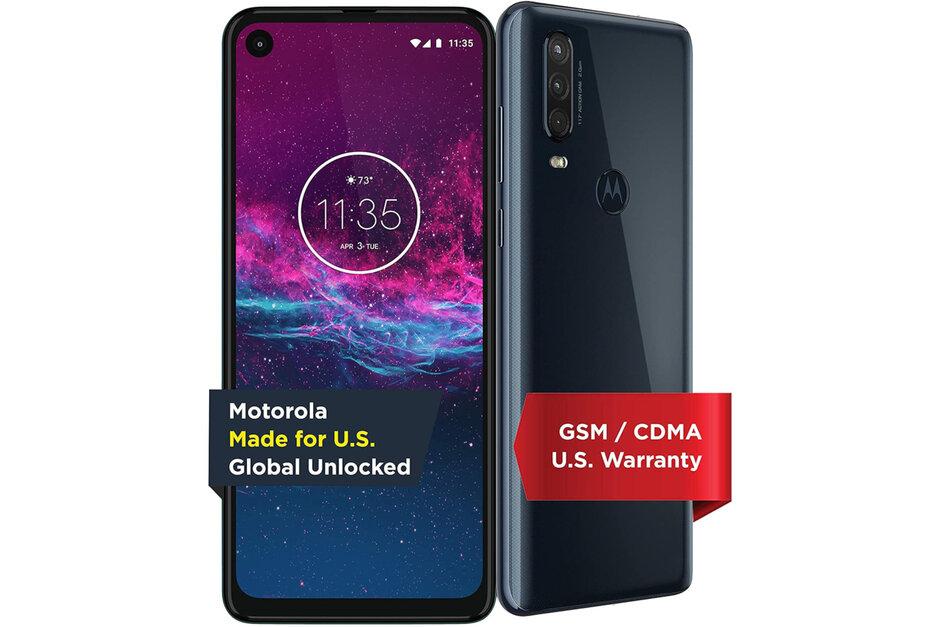 Save $100 on the unlocked Motorola One Action on Amazon