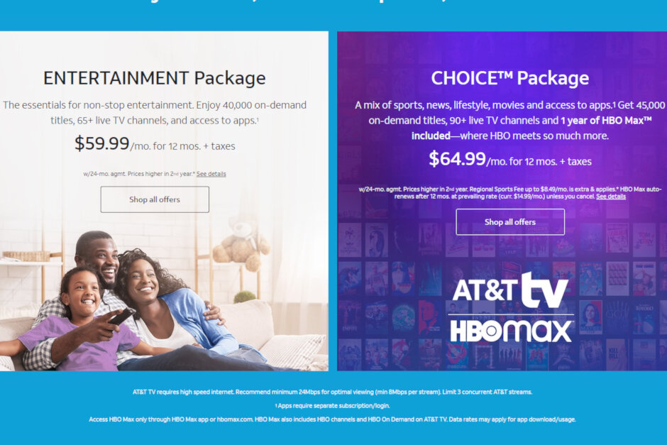 AT&T TV silently raises prices, removes HBO Max from cheapest plan