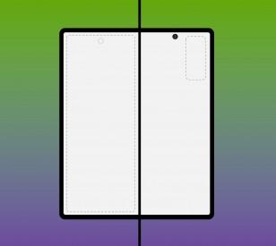 Galaxy Z Fold 2 deisign renders