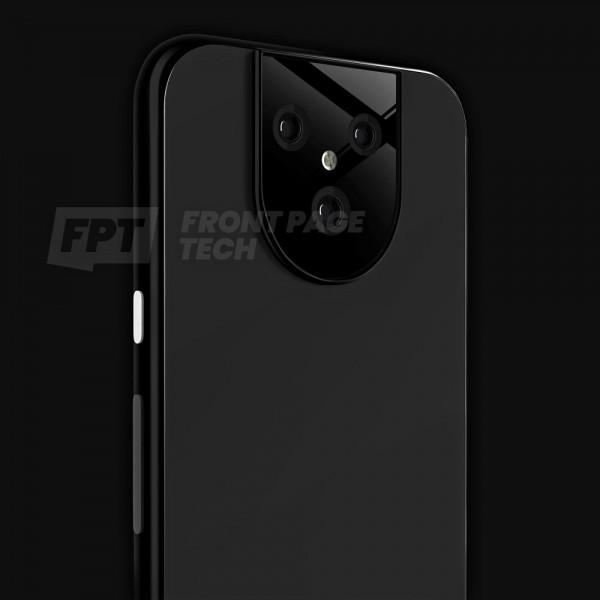 Google Pixel 5 XL that leaked in February with a triple camera setup