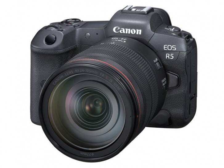 Canon unveils EOS R5 with 45MP full-frame sensor and 8K RAW video recording
