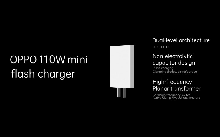 Oppo officially announces 125 flash charge, 65W AirVOOC wireless flash charge