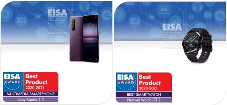 OnePlus, Oppo, Huawei, Samsung and Sony phones win EISA 2020-2021 awards