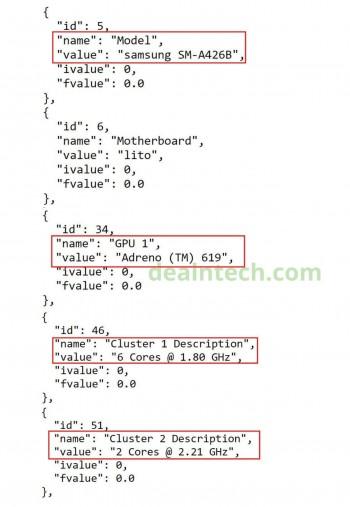 A screenshot of the source code