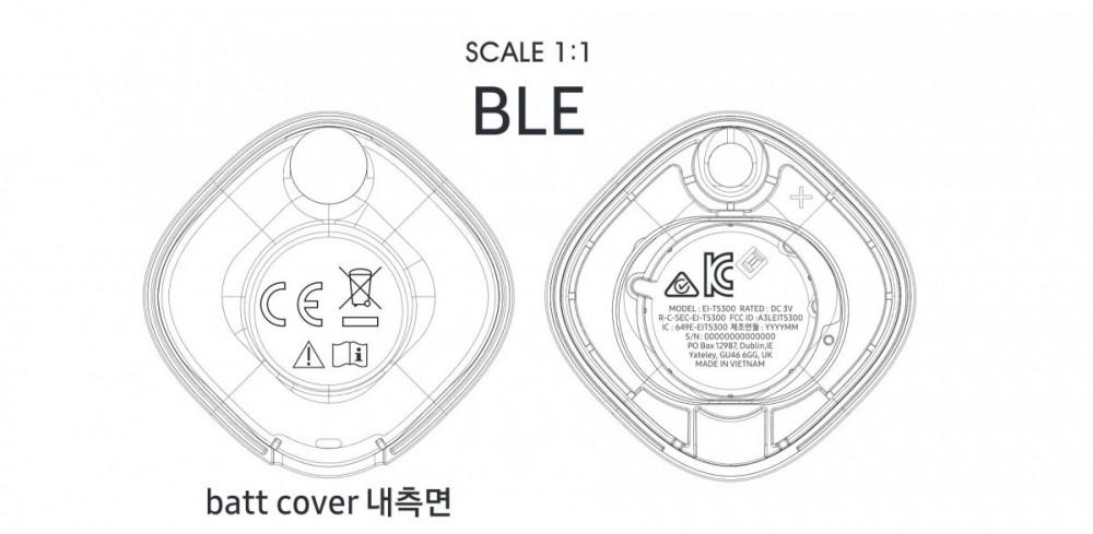 Samsung Galaxy Smart Tag Bluetooth tracker details surface
