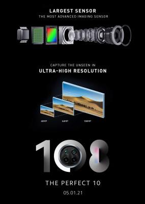 Xiaomi Mi 10i 5G: 108 MP main camera